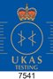 Image of UKAS Accreditation Logo 7541